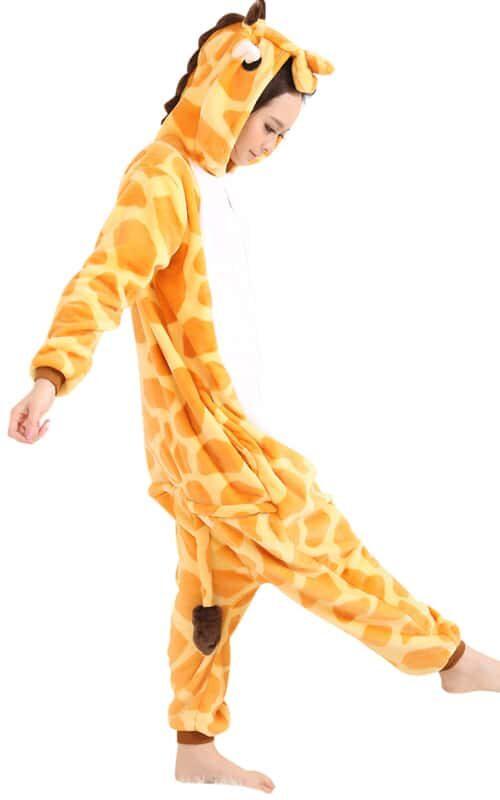 Giraffe Onesie voor heren, dames, jongens en meisjes