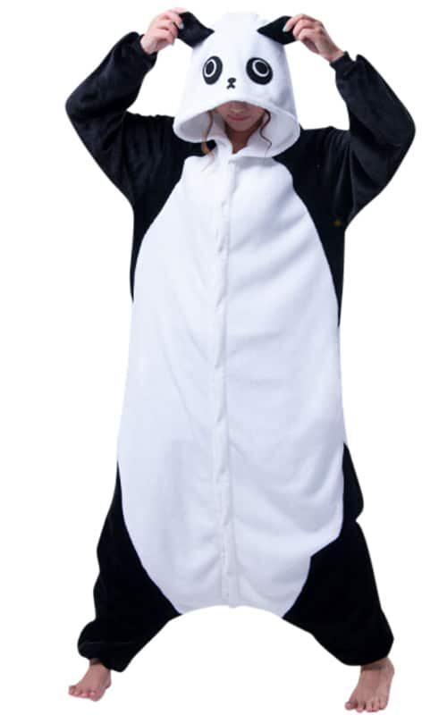 Panda Onesie voor heren, dames, jongens en meisjes