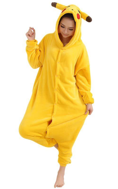 Pikachu Pokemon Onesie voor heren, dames, jongens en meisjes