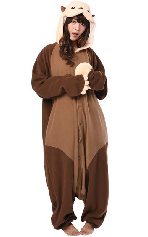 Otter Onesie voor heren, dames, jongens en meisjes