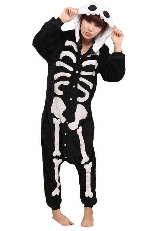 Skelet Onesie voor heren, dames, jongens en meisjes