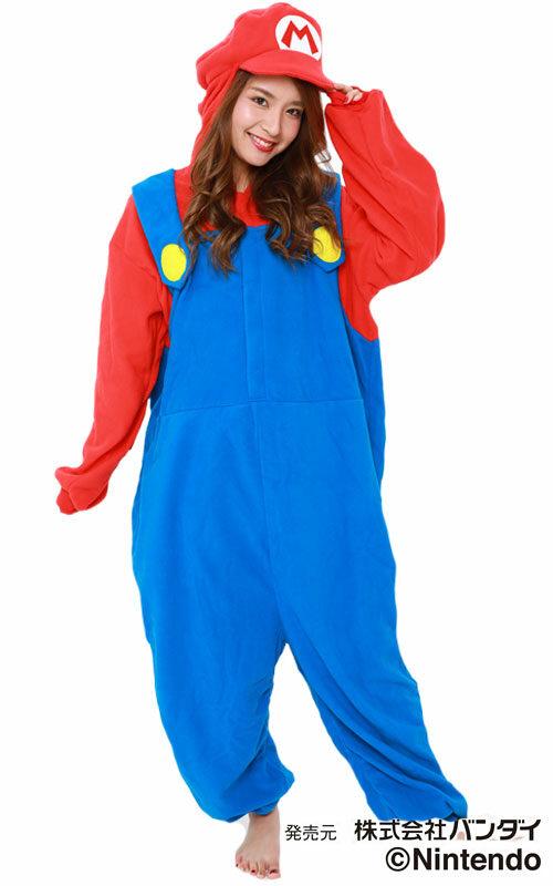 Super Mario Onesie voor heren, dames, jongens en meisjes