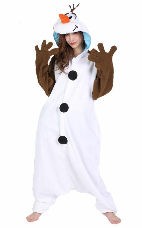 Olaf Frozen Onesie voor heren, dames, jongens en meisjes