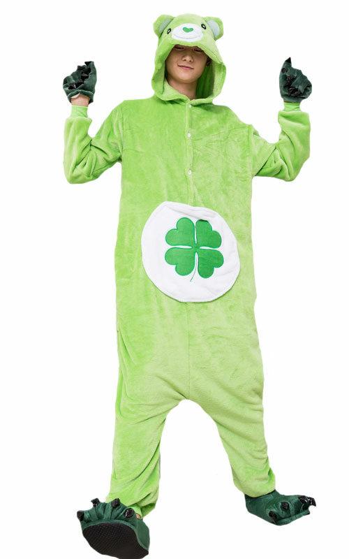 Troetelbeertjes Groen Onesie voor heren, dames, jongens en meisjes