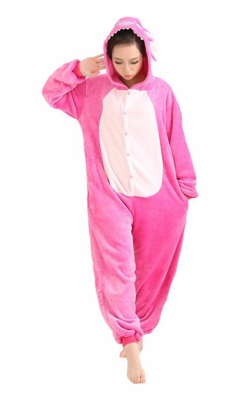 Roze Stitch Onesie voor heren, dames, jongens en meisjes